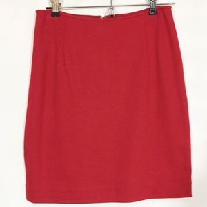 Hugo Buscatti Collection Red Stretch Knit Skirt 4P